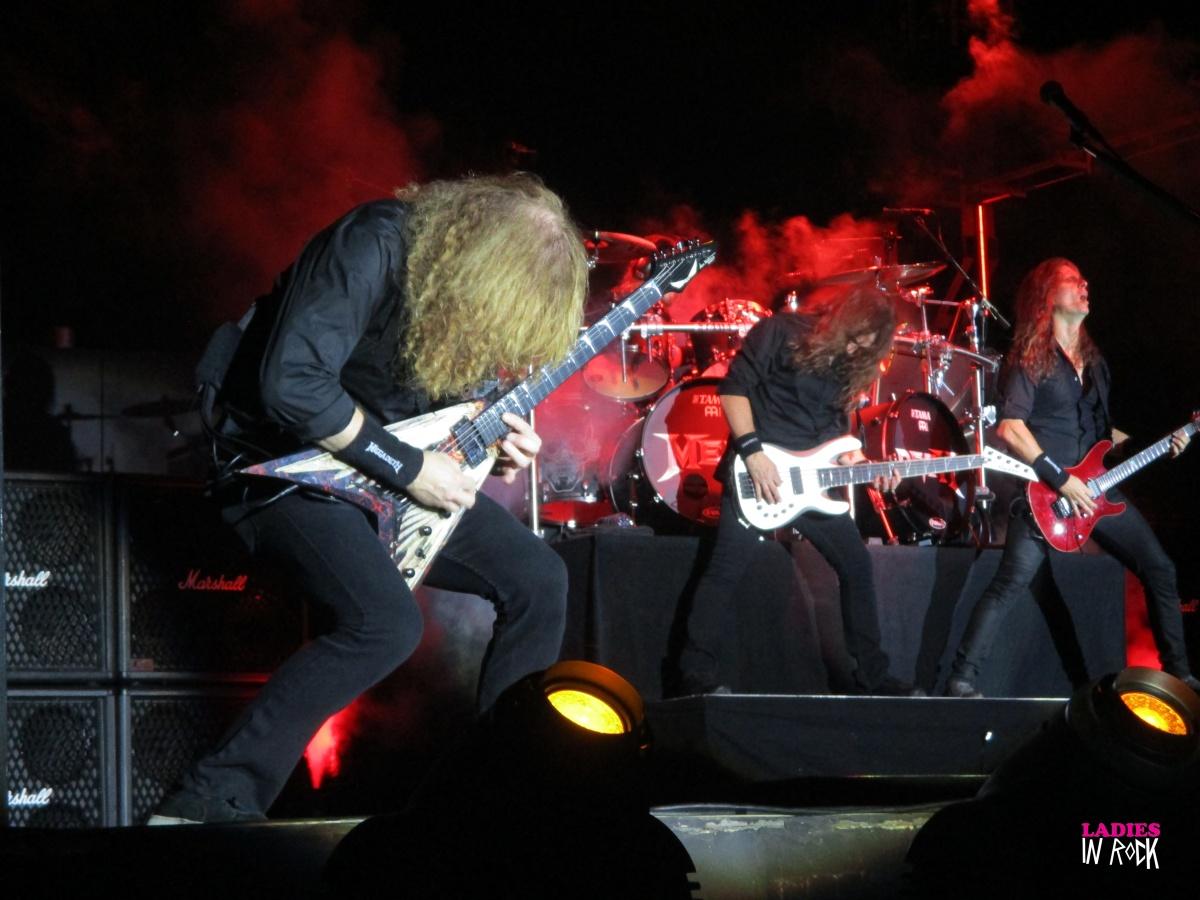Megadeth + Trivium + Last in Line live @ Carroponte (Milano) 08.08.2017